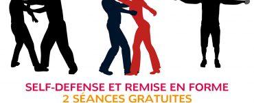 Séances gratuites de self-defense et remise en forme