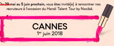 Handi Talent Tour Nocibé à Cannes