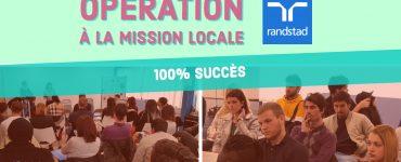 Randstad à la Mission Locale