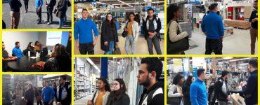 La Garantie Jeunes de la Mission Locale Cannes Pays de Lérins visite Castorama Mandelieu